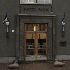 Банк Эстонии. Источник фото: et.wikipedia.org.