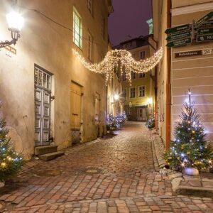 Новогодний Таллин. Источник фото: Pixabay.com.